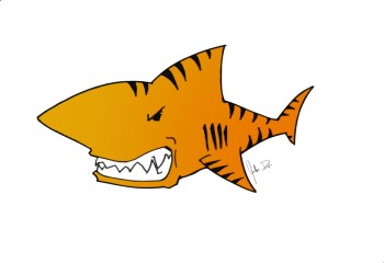 HC Tiger Sharks Logo